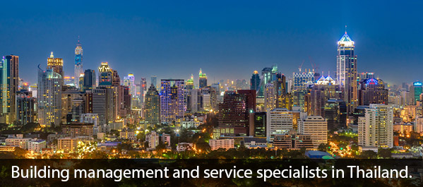 Buiding managent and services in Thailand